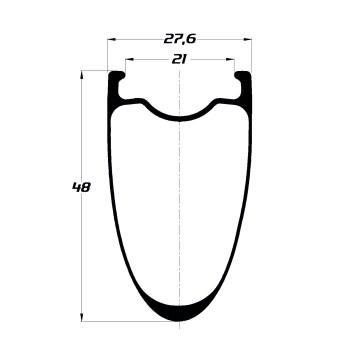DUKE BACCARA 48C sls2 symétrique