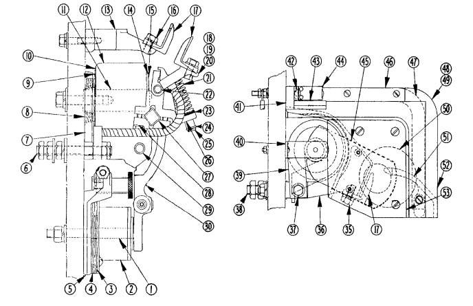 Cutler-Hammer No. 582 300 Amp Double Pole D-C Contactor