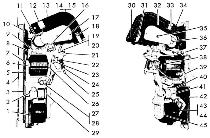Cutler-Hammer No. 934 150 Amp Single Pole D-C Ltl Contactor