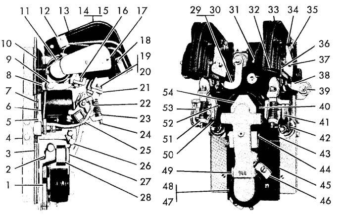 Cutler-Hammer No. 944 150 Amp Two-Pole D-C Ltl Contactor