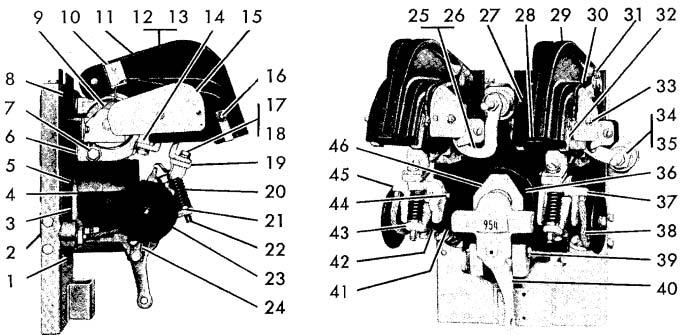 Cutler-Hammer No. 954 150 Amp Double Pole D-C Ltl Contactor