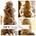 3 Easy Diy Burlap Trees That Anyone Can Make Duke Manor Farm