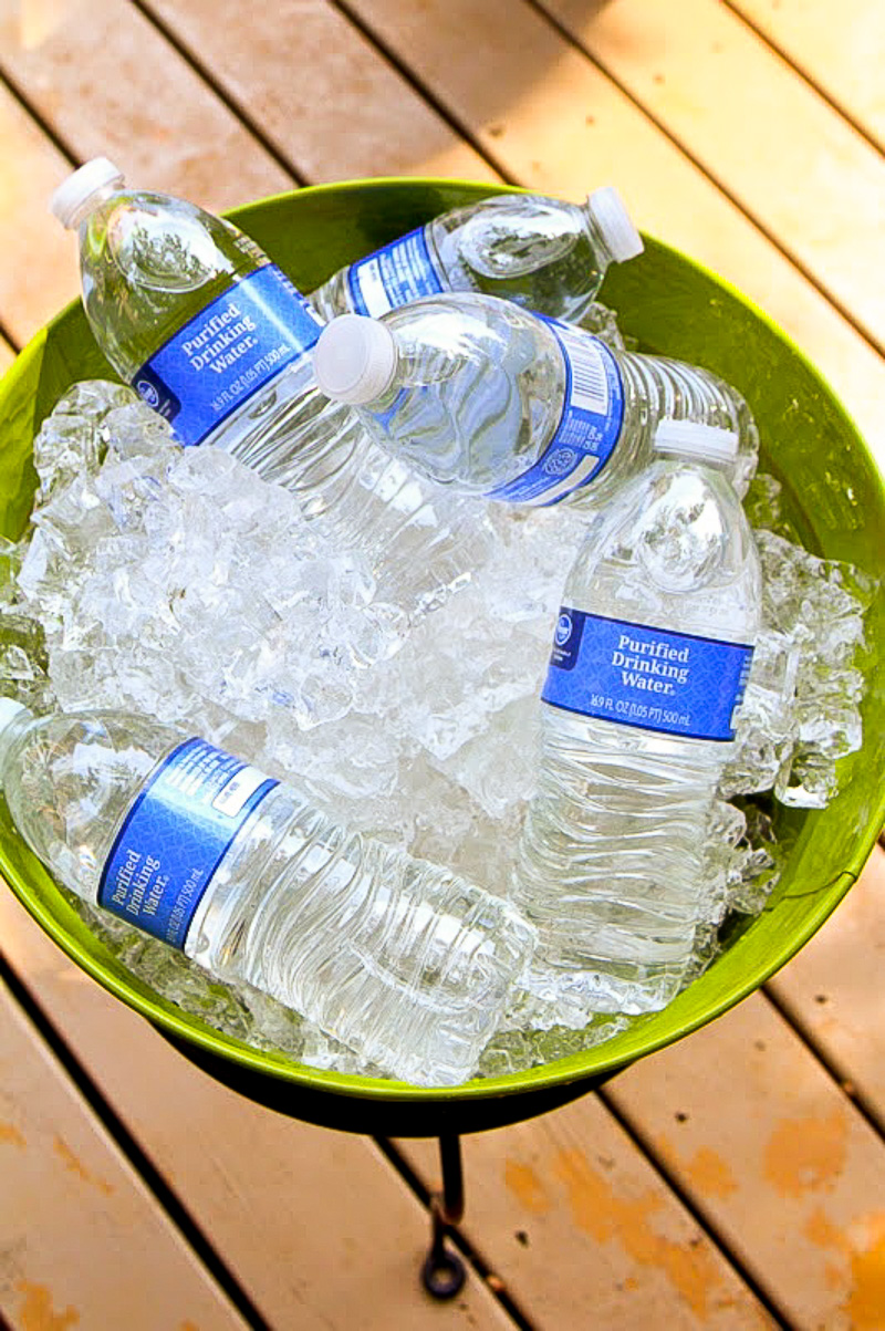 DIY Summer Ice bucket  Duke Manor Farm
