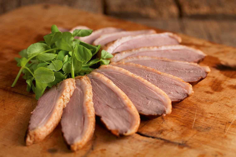 Hot Smoked Duck Breast - Deli Meats