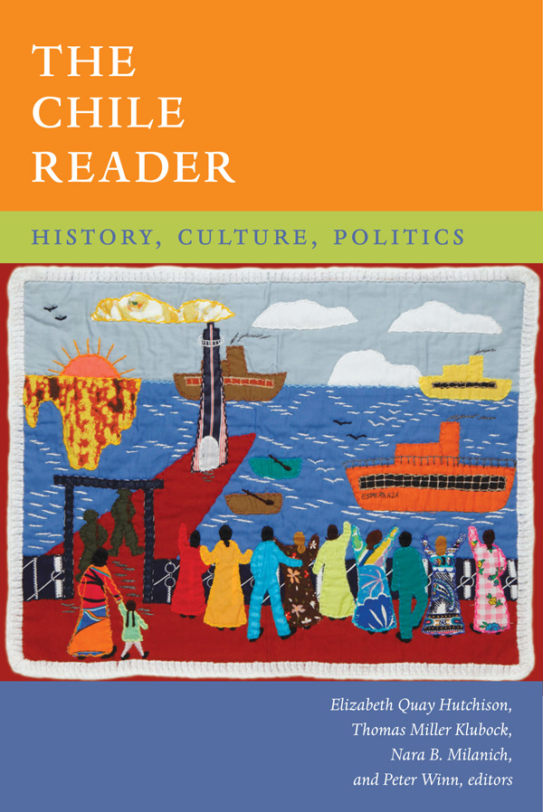 Book Review The Chile Reader History Culture Politics