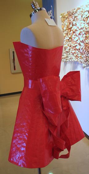 stipe-dress