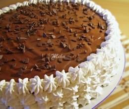 Tort cu ciocolata si nuca (2)