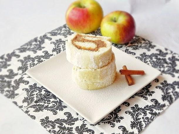 Rulada cu mere calite
