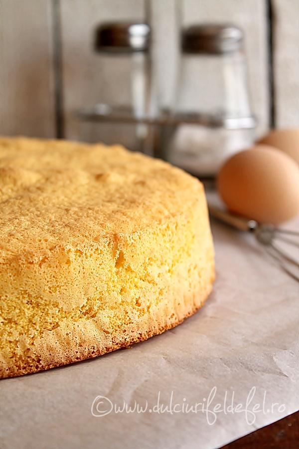 Blat simplu de tort din pandispan