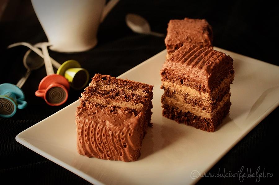 Prajitura cu doua feluri de ciocolata