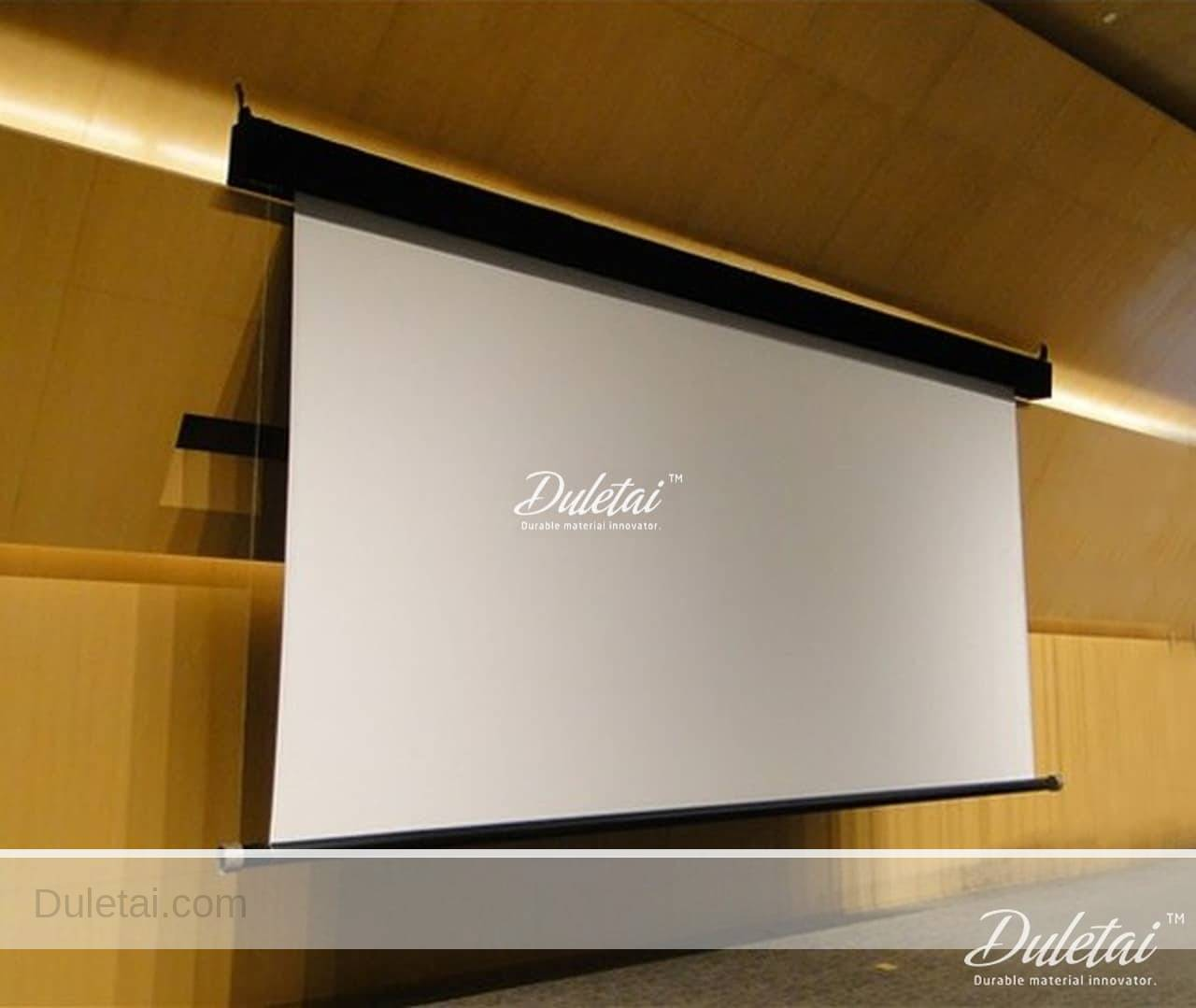 Woven projection screen fabric best price hot quality pvc