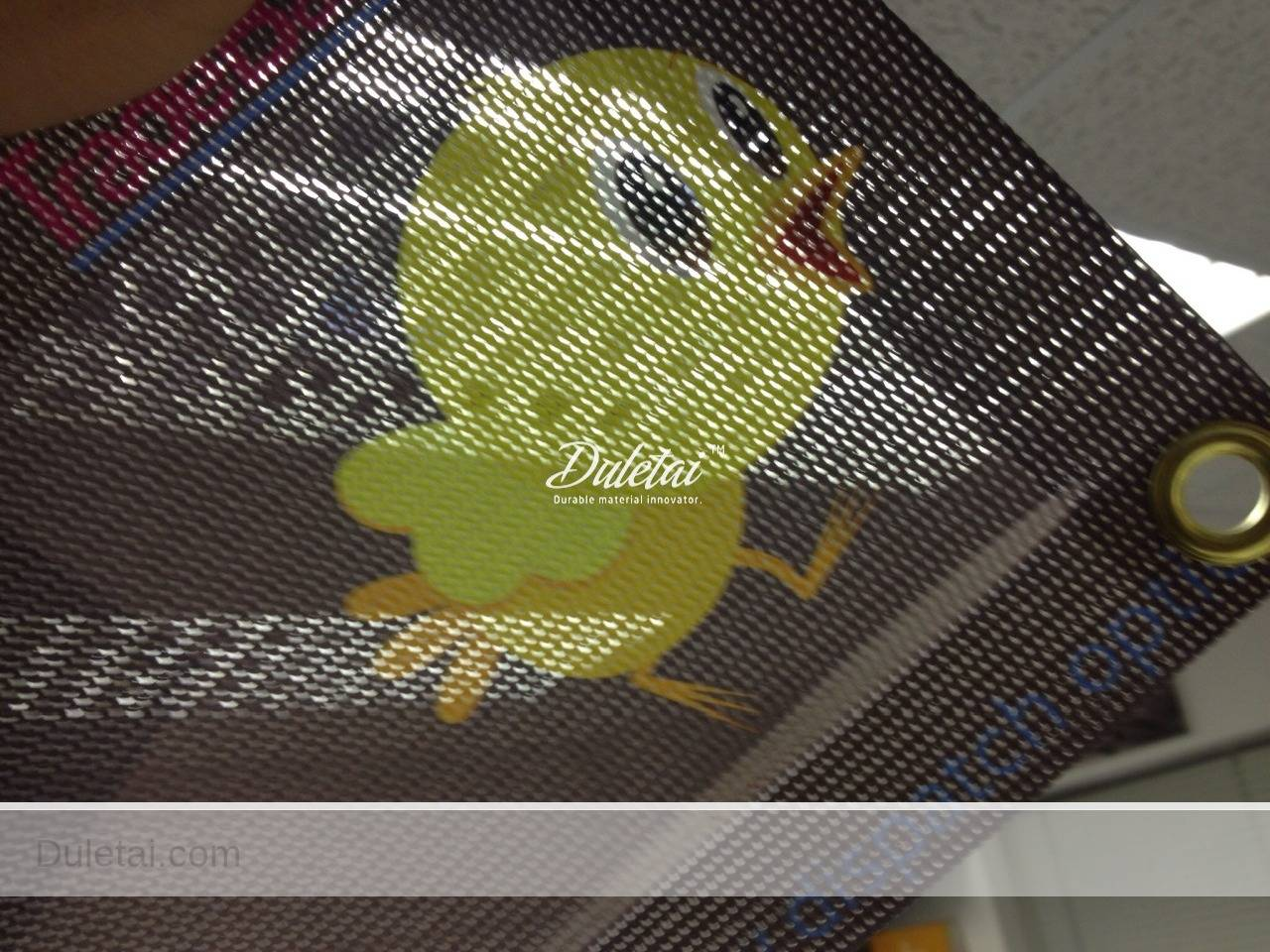 PVC printing mesh fabric polyester mesh fabric Outdoor PVC