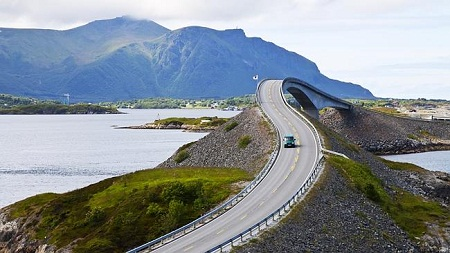 The Atlantic Road, Na Uy