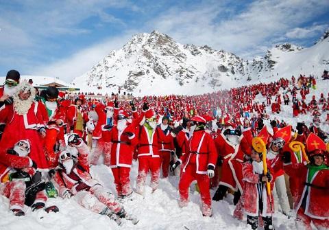 Không khí Giáng sinh trên khắp thế giới