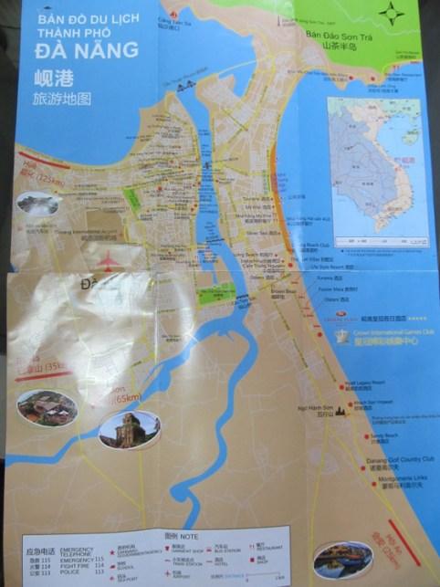 Hướng dẫn viên Trung Quốc tuồn bản đồ không Hoàng Sa vào Đà Nẵng