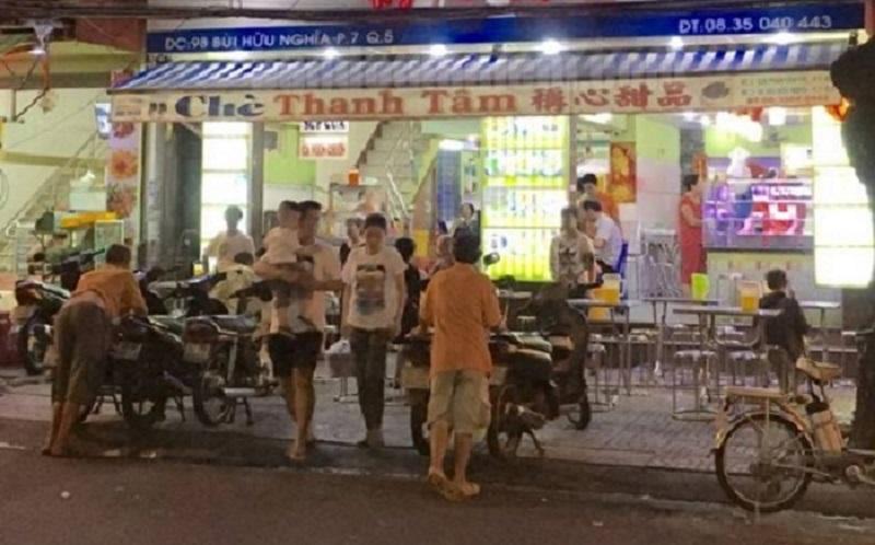 Chè bê đê Sài Gòn có tên goi chính xác là chè Thanh Tâm