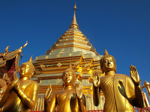 Chùa vàng Wat Phra That Doi Suthep