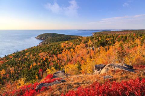 Vườn Quốc gia Acadia ở Maine