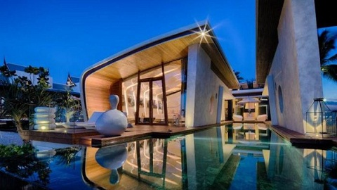Hồ bơi Iniala Beach House, Mỹ