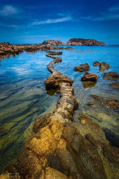 Thắng cảnh thiên nhiên tuyệt mỹ bên bờ biển Quy Nhơn