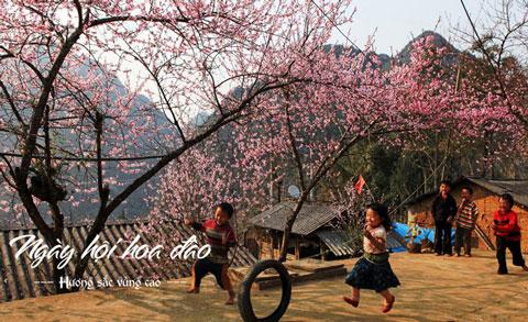 ngày hội hoa đào mộc châu