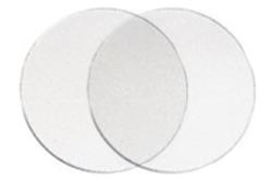 Clear Plastic Desk Buttons