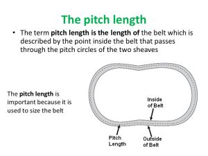 pitch length
