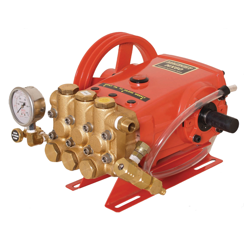 medium resolution of plunger pump pulley driven hx series