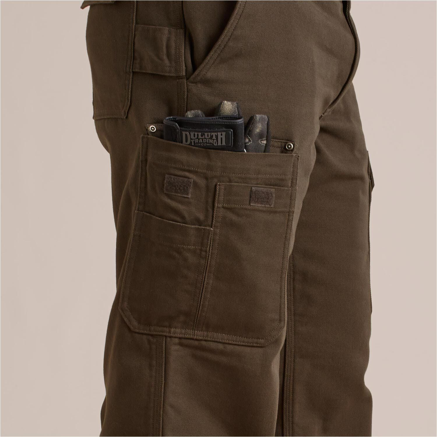 Men' Duluthflex Fire Hose Fleece-lined Relaxed Fit Cargo
