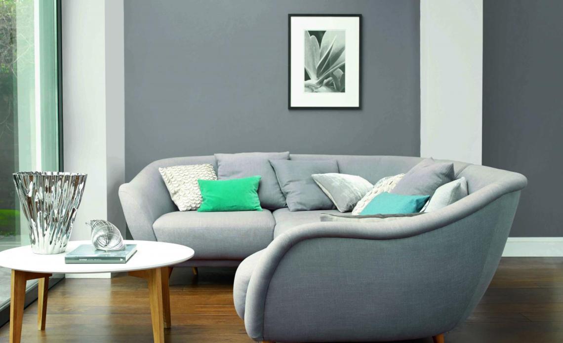 Grey Living Room Ideas Grey Decorating Paint Ideas Dulux