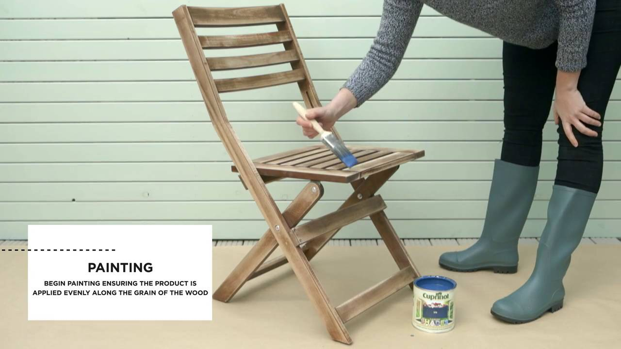 Trick To Try How To Paint Outdoor Furniture Dulux