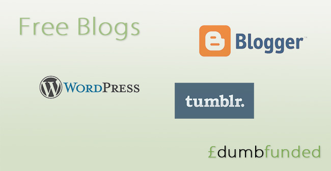 Dumbfunded - Free blogs