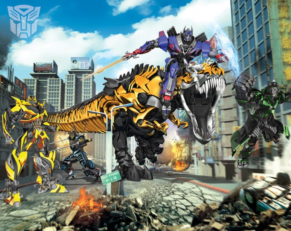 Transformers Wall Mural