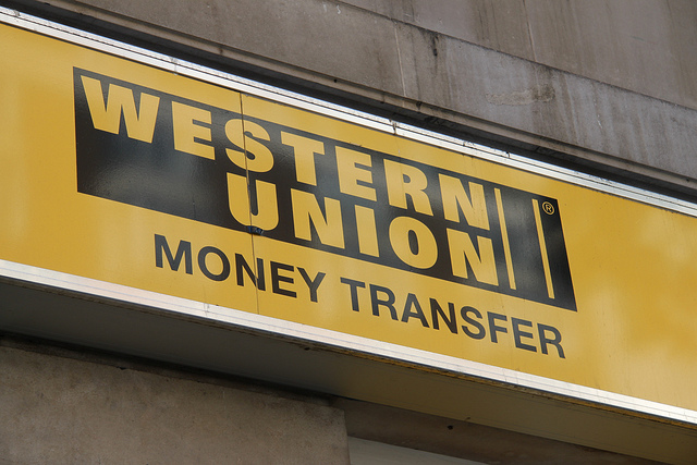 Western Union Sign - By  geographyalltheway.com