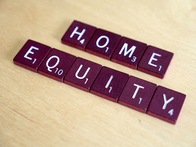 Home Equity Scrabble Letters