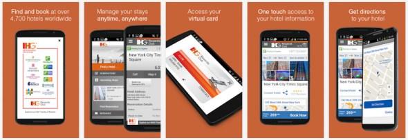 IHG® Hotel Booking & Deals Android App