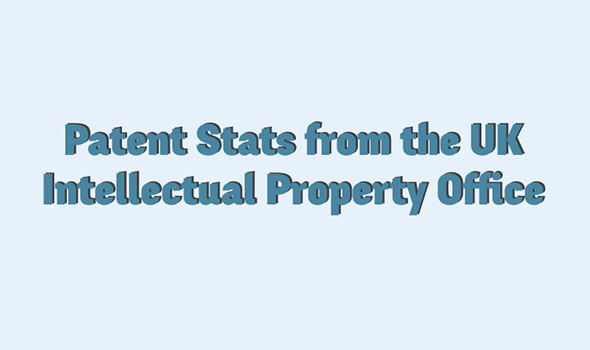 Patent Stats from the UK Intellectual Property Office