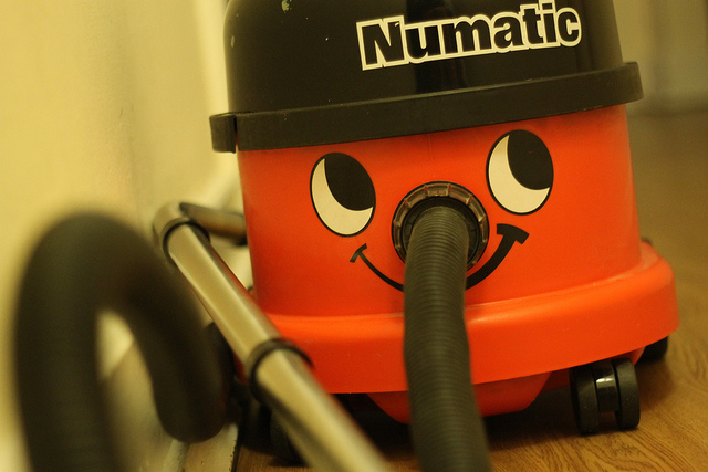 Dealing With An Unexpected Bill Or Expense? Don't Panic! - Henry Numatic Vaccum Cleaner - By David Simmonds