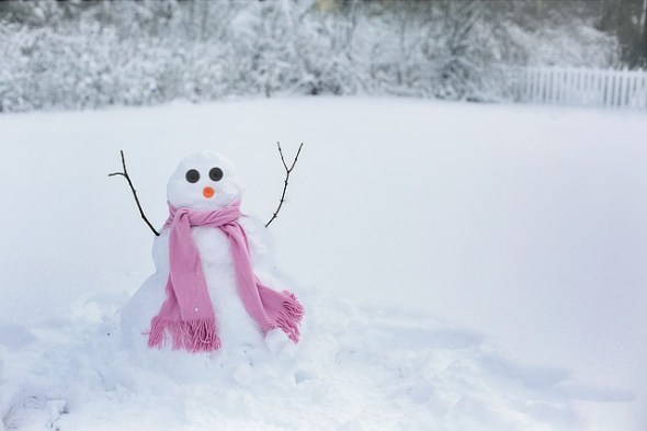 Help With Winter Fuel Costs - Snowman - By Jill111