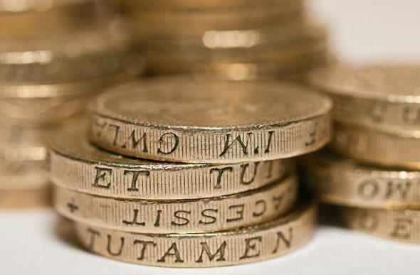 Is It Time For A Pension Switch Guarantee? Pound Coins