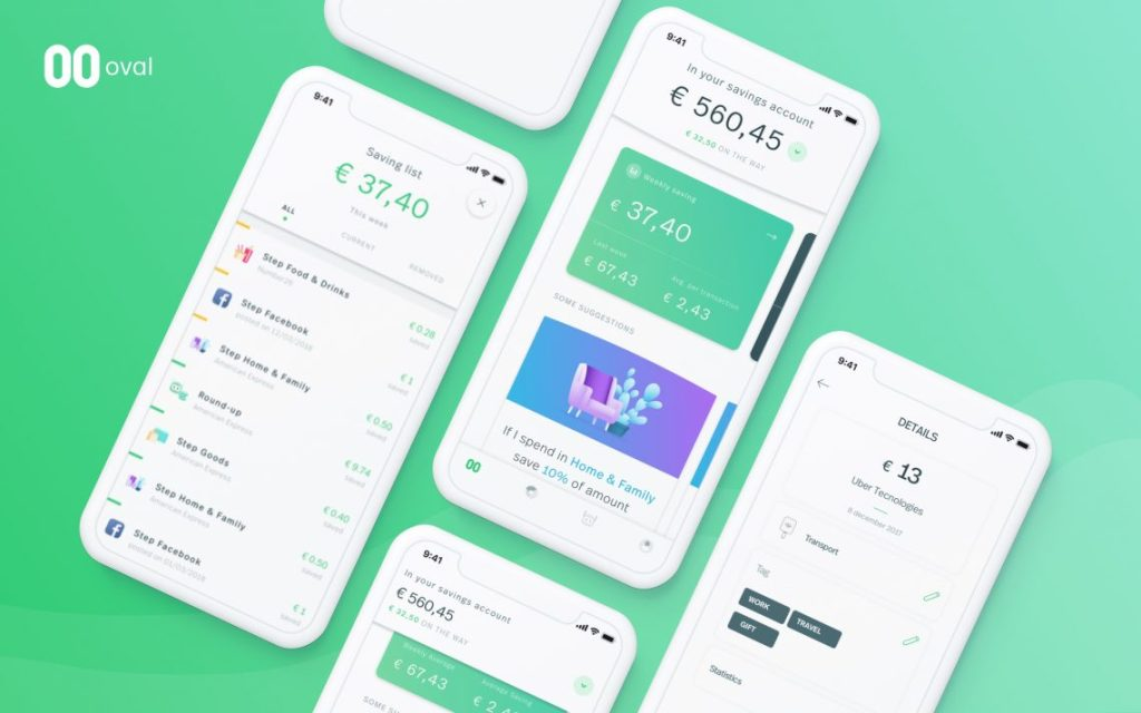 The Top Banking Apps To Help You Save In 2019 - Image Via OvalMoney.com