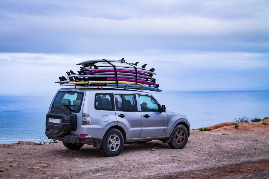 SUV Roof Rack Surfboards