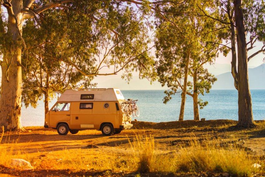 Campervan Holiday Sea