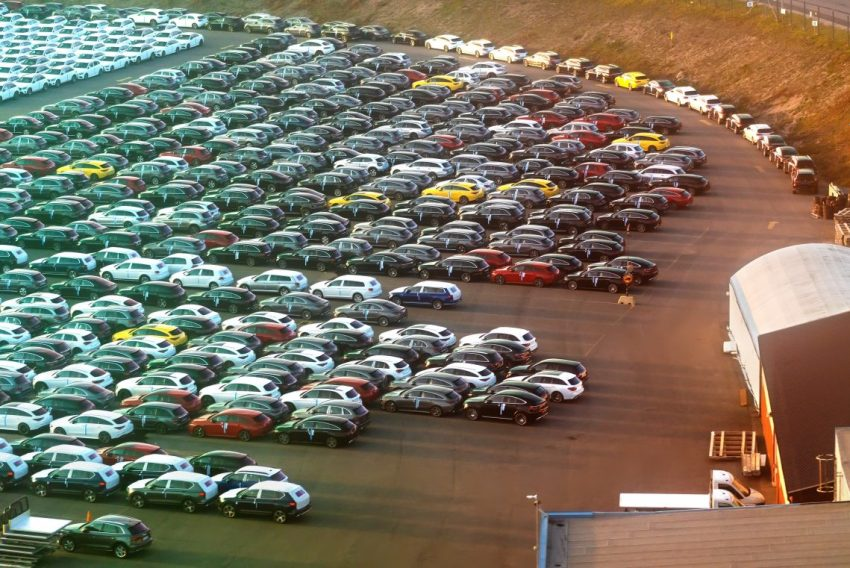 Used Cars Forecourt