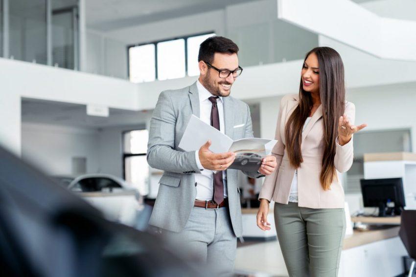 Women Buying A Car