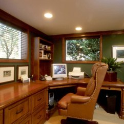 Decorating Living Room Dark Brown Leather Sofa Bookshelf Ideas Turn Your Home Office Into A Productivity Zone