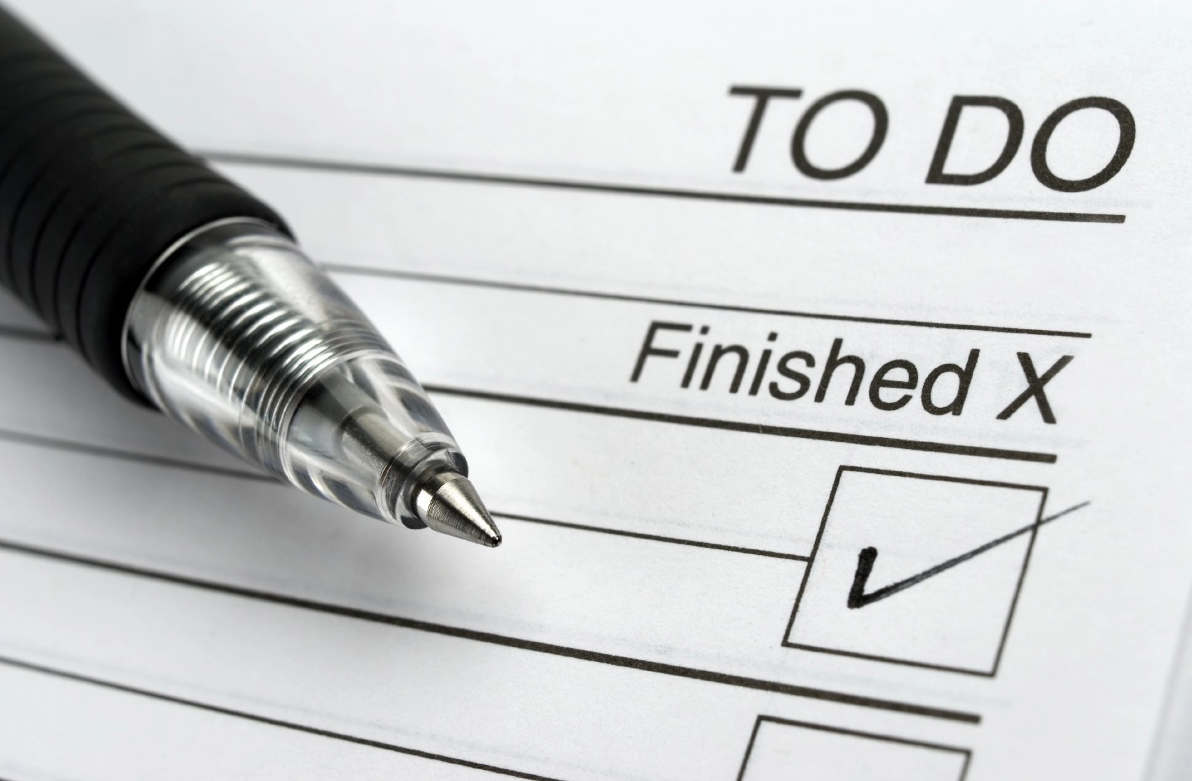 Your To-Do List: Knowing Where to Start