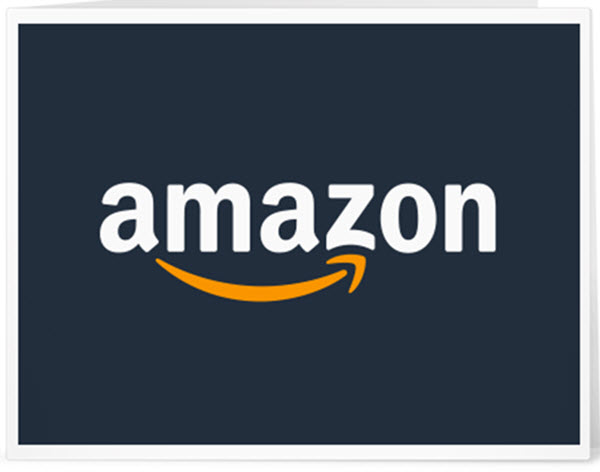 visual double entendre amazon logo