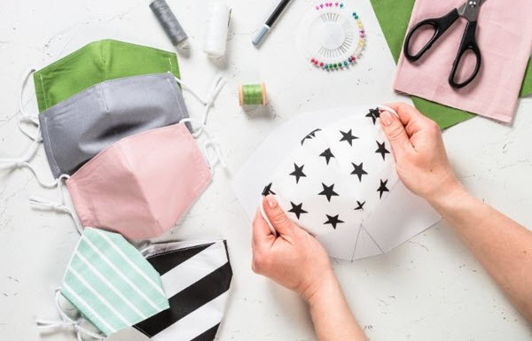 making cloth face mask