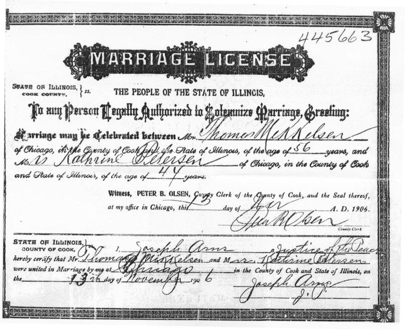 wedding license chicago   Invitationjpg.com